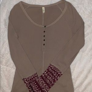 Free People knit long sleeve